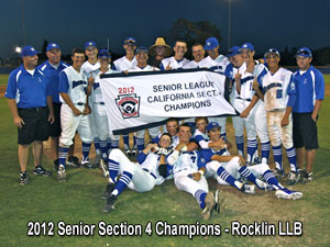 2012 Section 4 Senior All-Star Champions